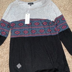 New simply southern Aztec sweater